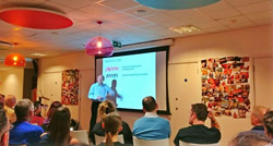 Terry_Nicklin_speaking at Marketing Meetup